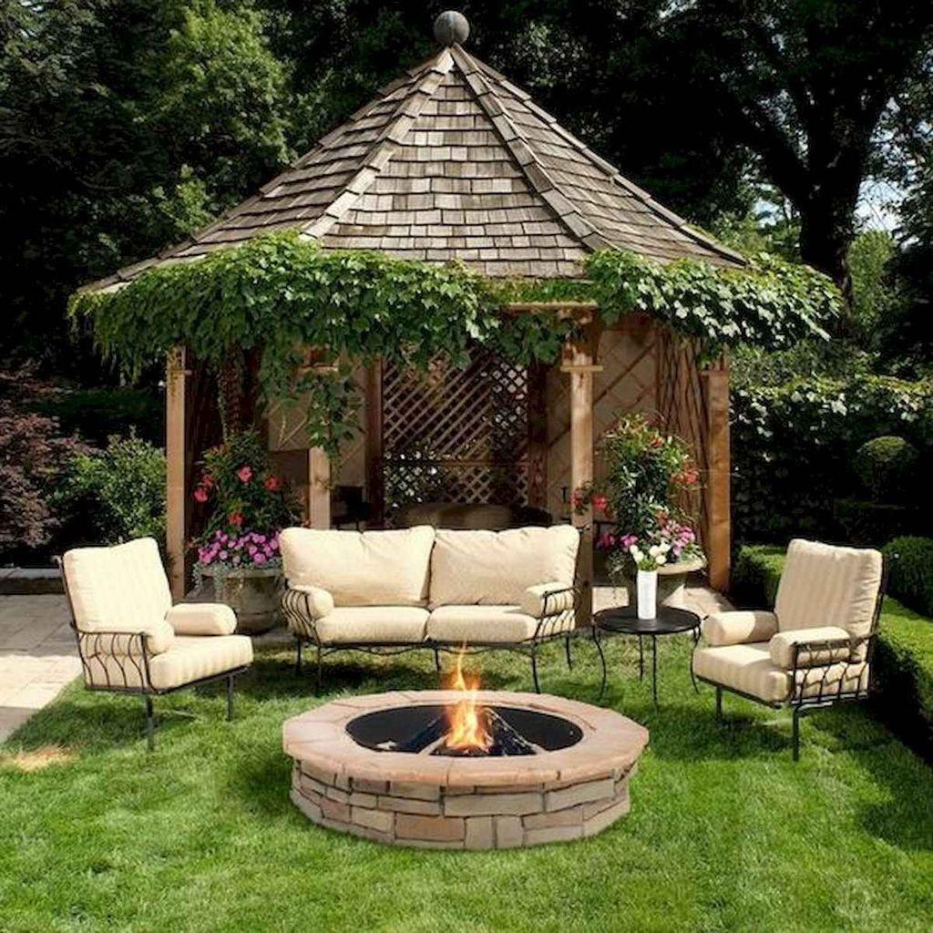 Inspiring Backyard Fire Pit Ideas 26