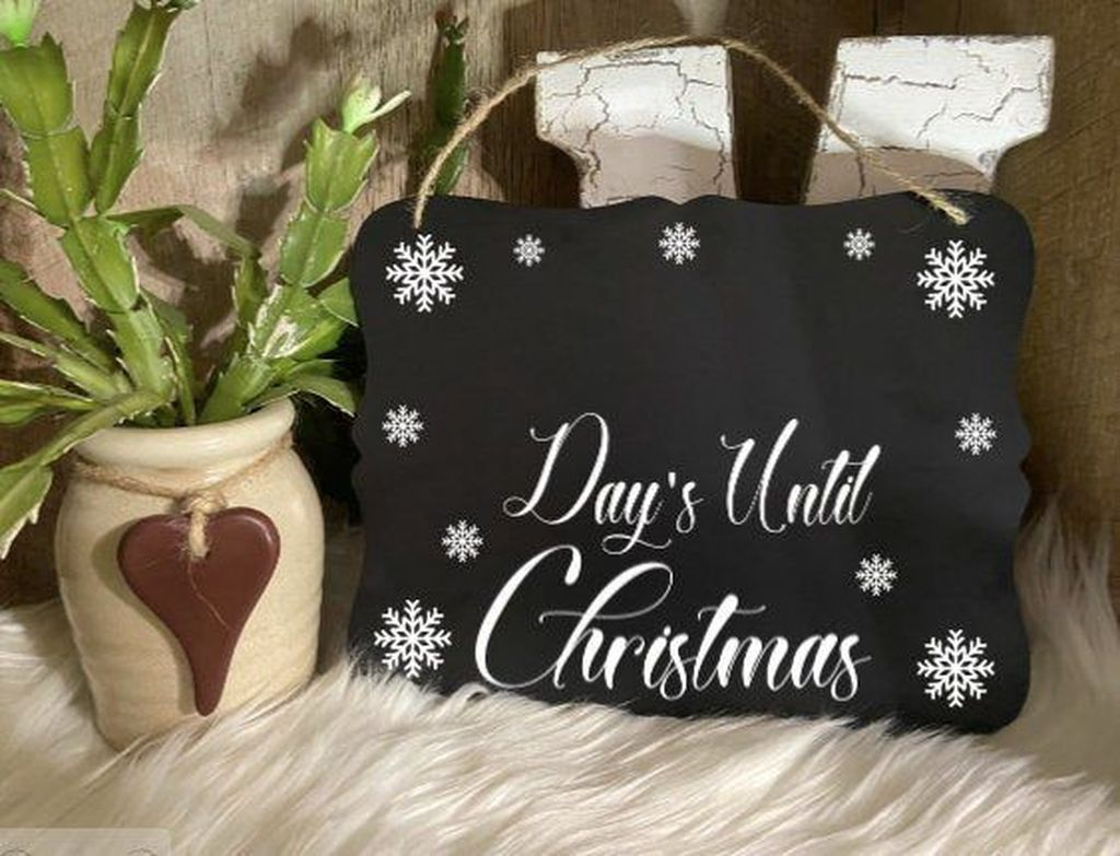 Inspiring Christmas Chalkboard Signs Design Ideas 01