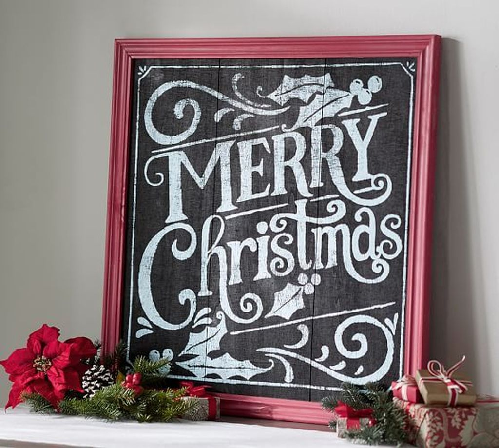 Inspiring Christmas Chalkboard Signs Design Ideas 03