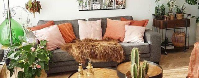 Lovely Bohemian Living Room Decor Ideas 05