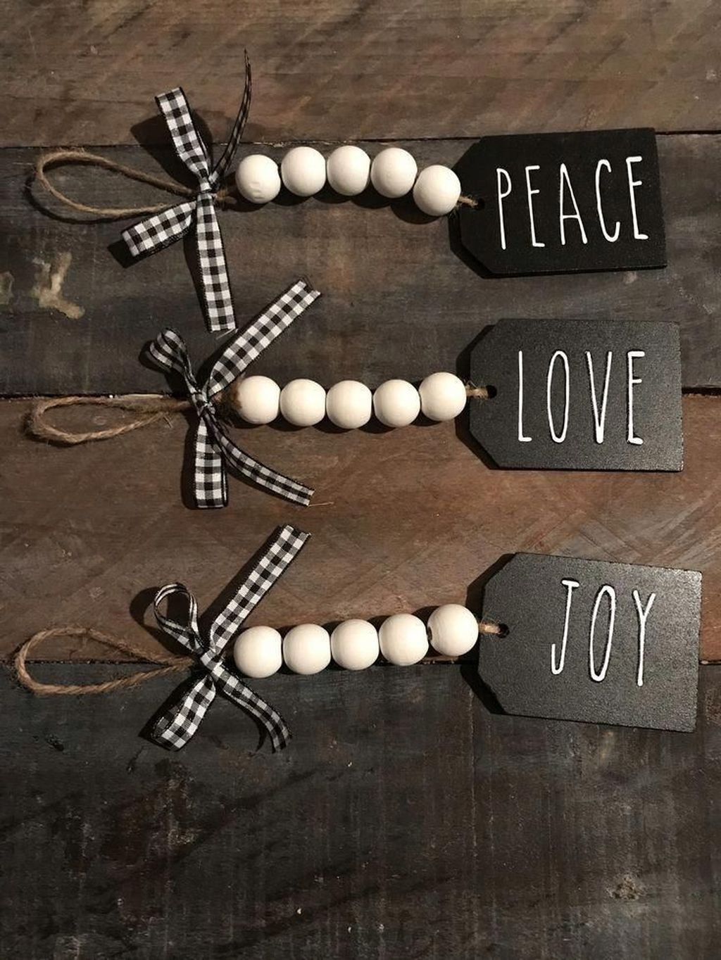 Nice Christmas Rustic Ornaments For Home Decoration 20