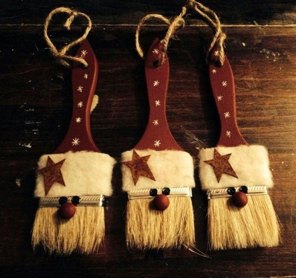 Nice Christmas Rustic Ornaments For Home Decoration 24