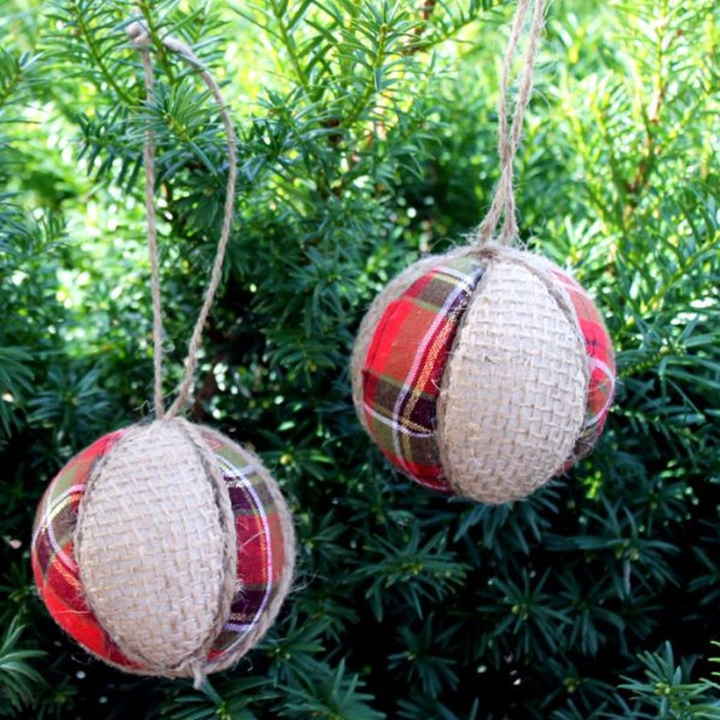 Nice Christmas Rustic Ornaments For Home Decoration 27