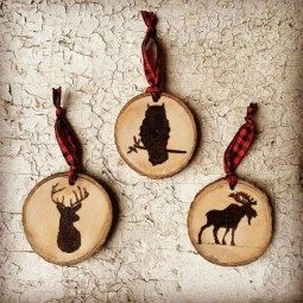 Nice Christmas Rustic Ornaments For Home Decoration 28