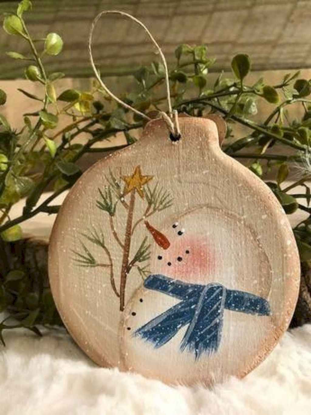 Nice Christmas Rustic Ornaments For Home Decoration 32