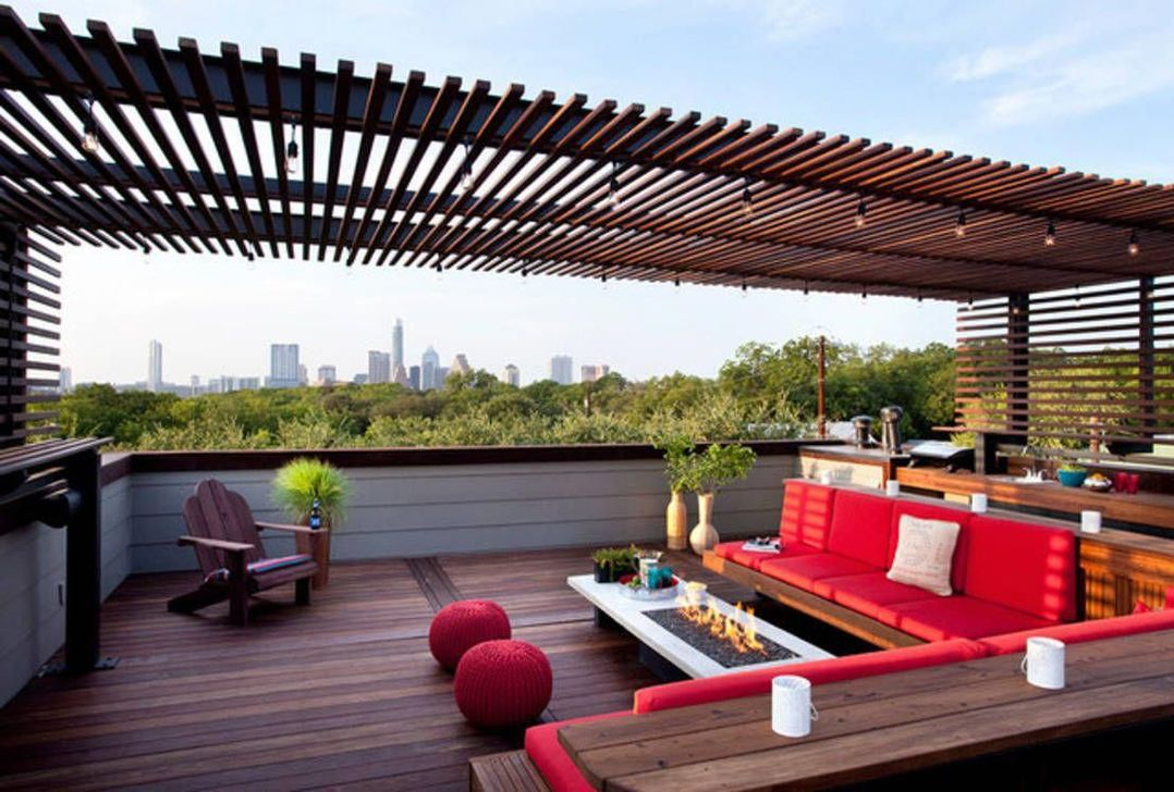 Nice Rooftop Terrace Design Ideas 01
