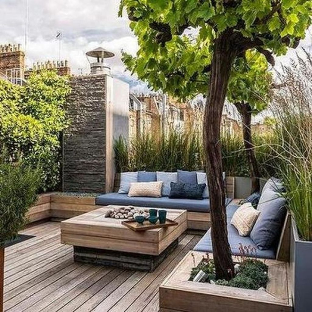 Nice Rooftop Terrace Design Ideas 05
