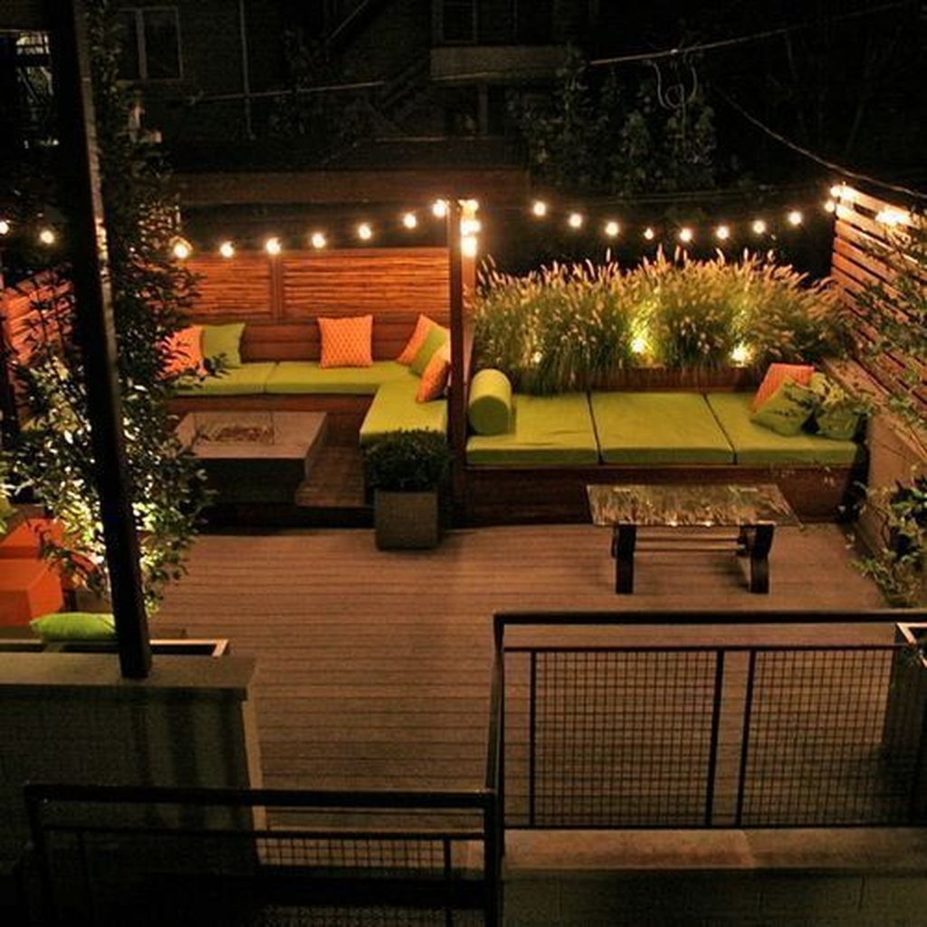 Nice Rooftop Terrace Design Ideas 12