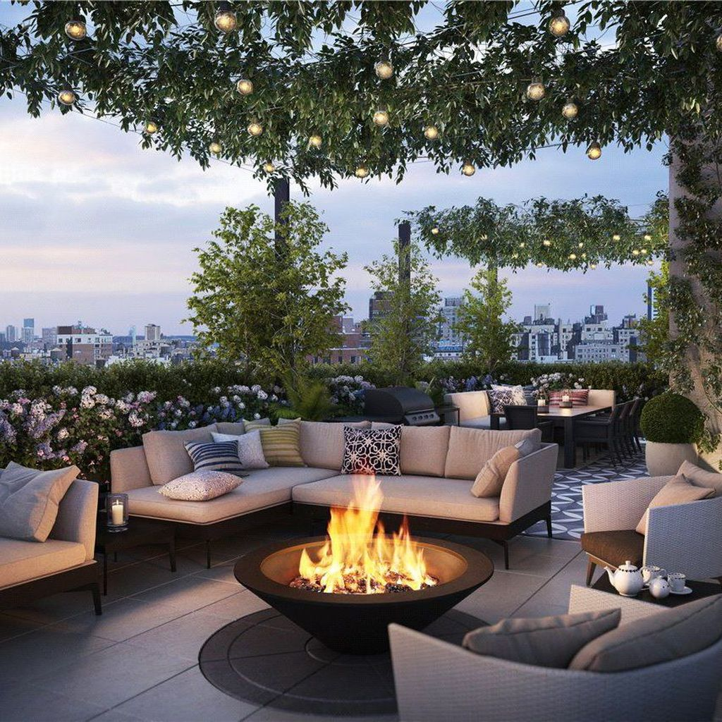 Nice Rooftop Terrace Design Ideas 23