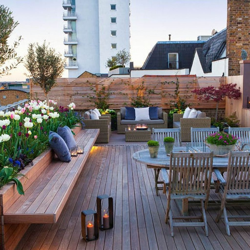Nice Rooftop Terrace Design Ideas 31
