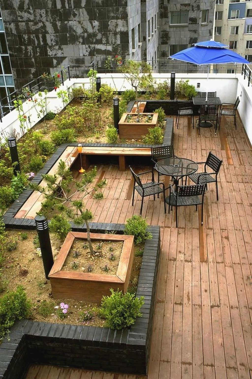 Nice Rooftop Terrace Design Ideas 33