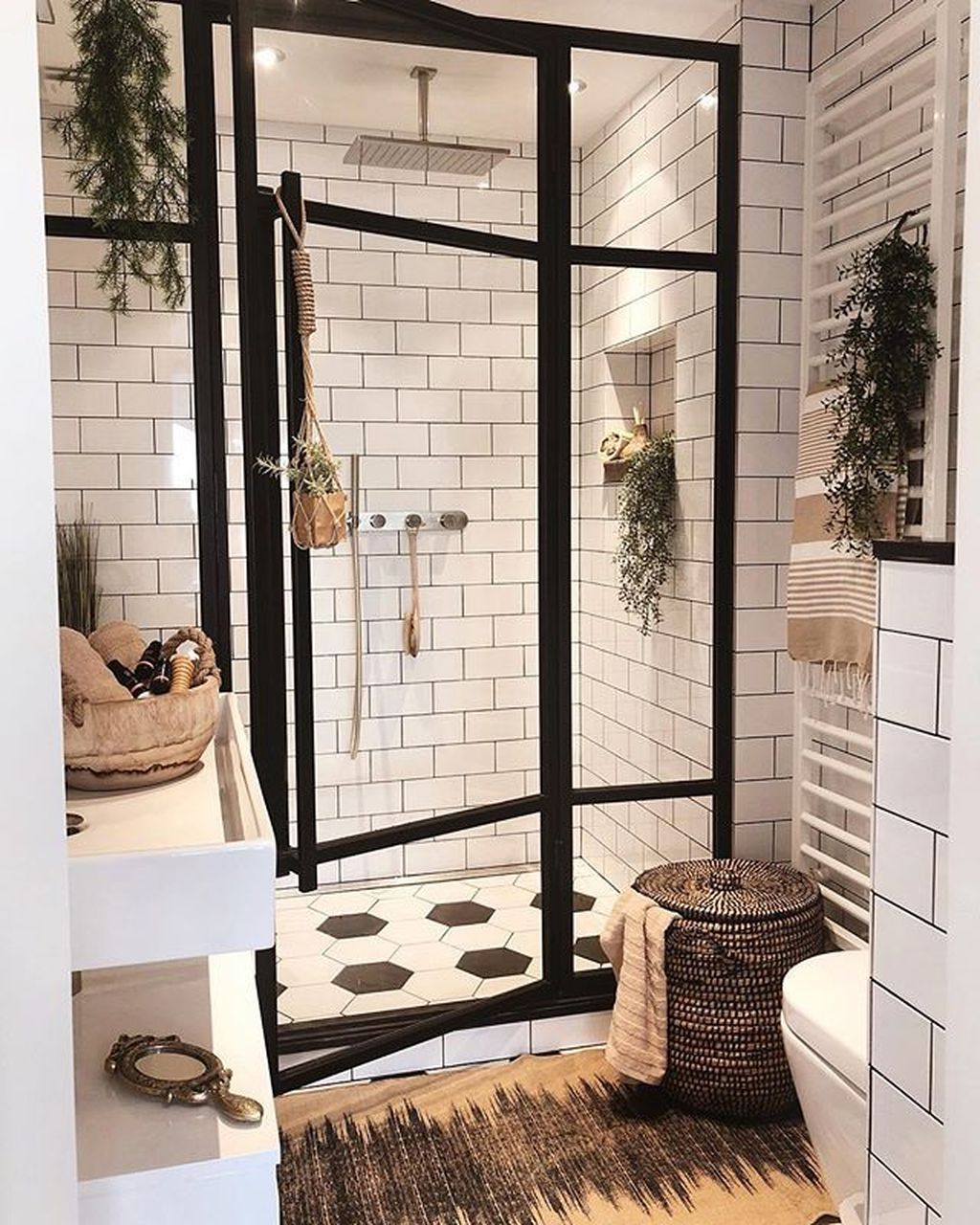 Stunning Industrial Bathroom Design Ideas 15