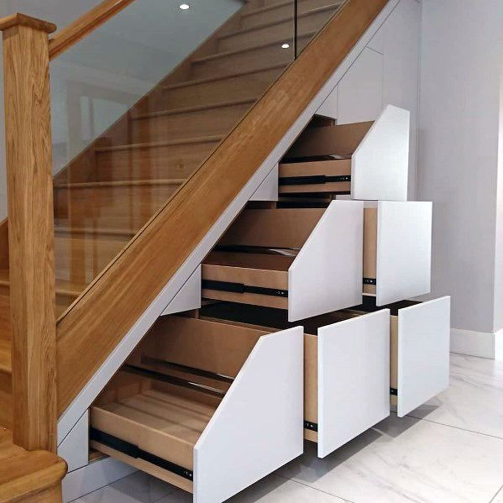 Stunning Wooden Stairs Design Ideas 01