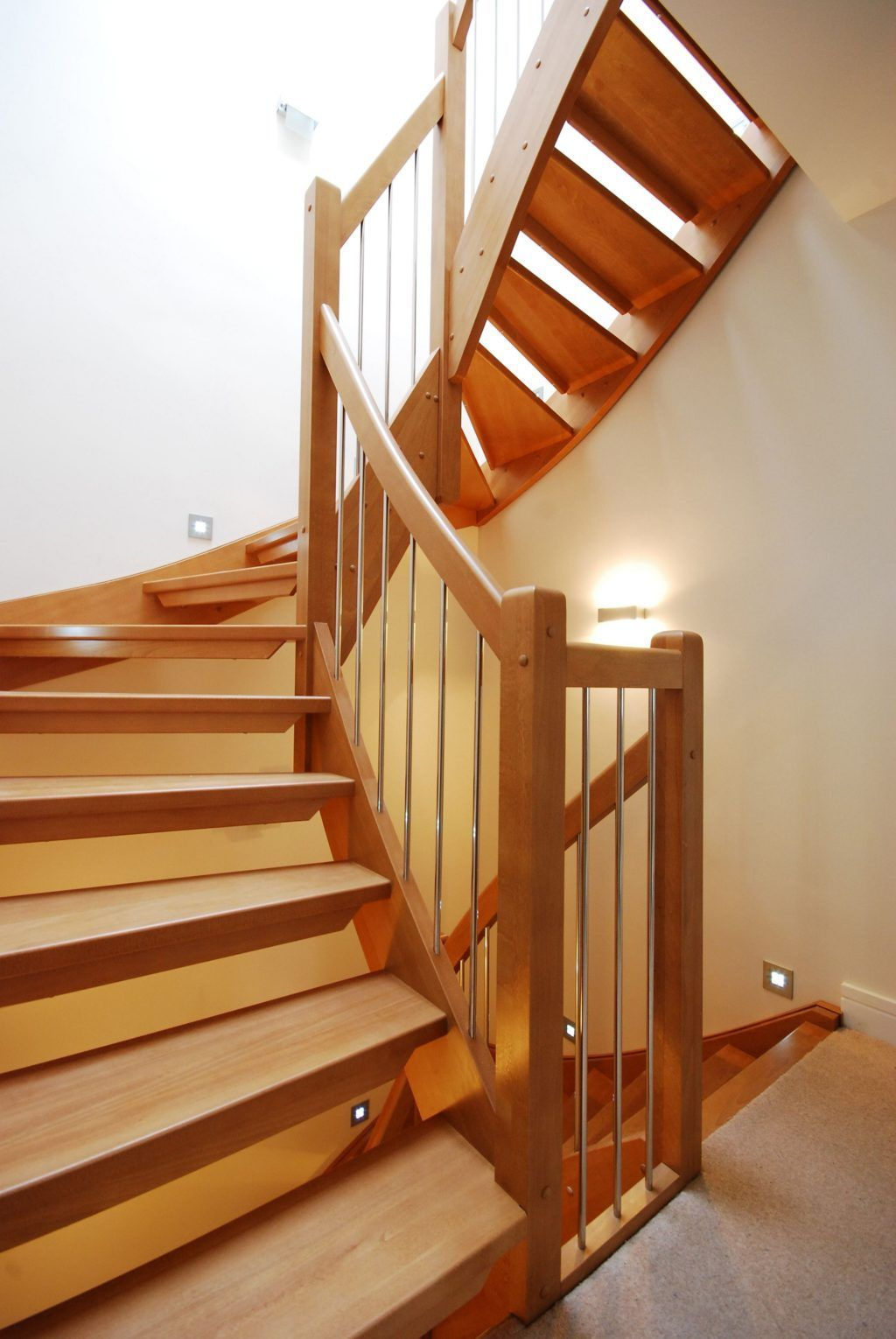 Stunning Wooden Stairs Design Ideas 02