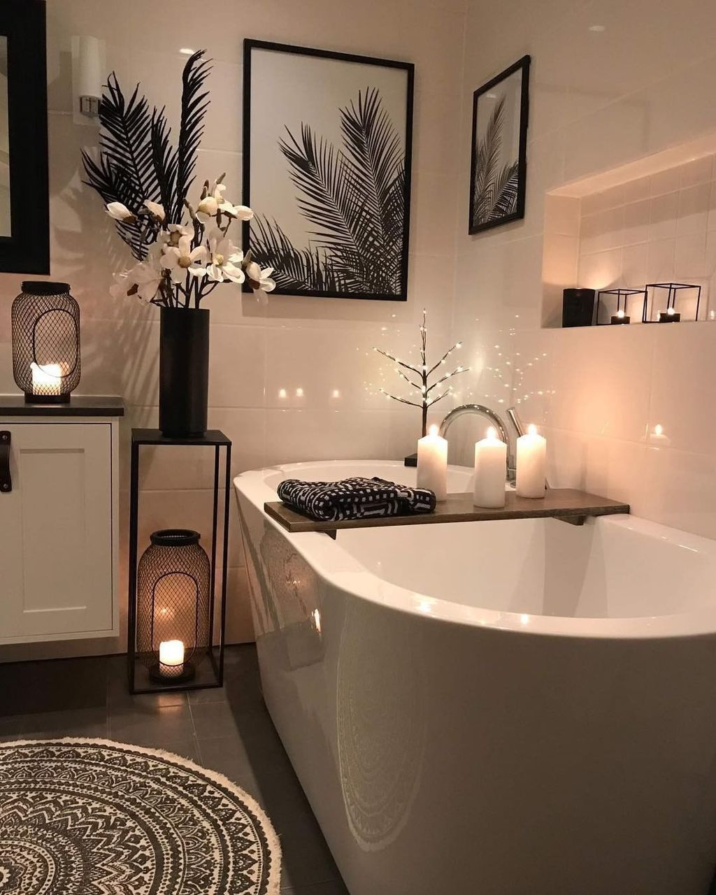 The Best Winter Bathroom Decor Ideas 22