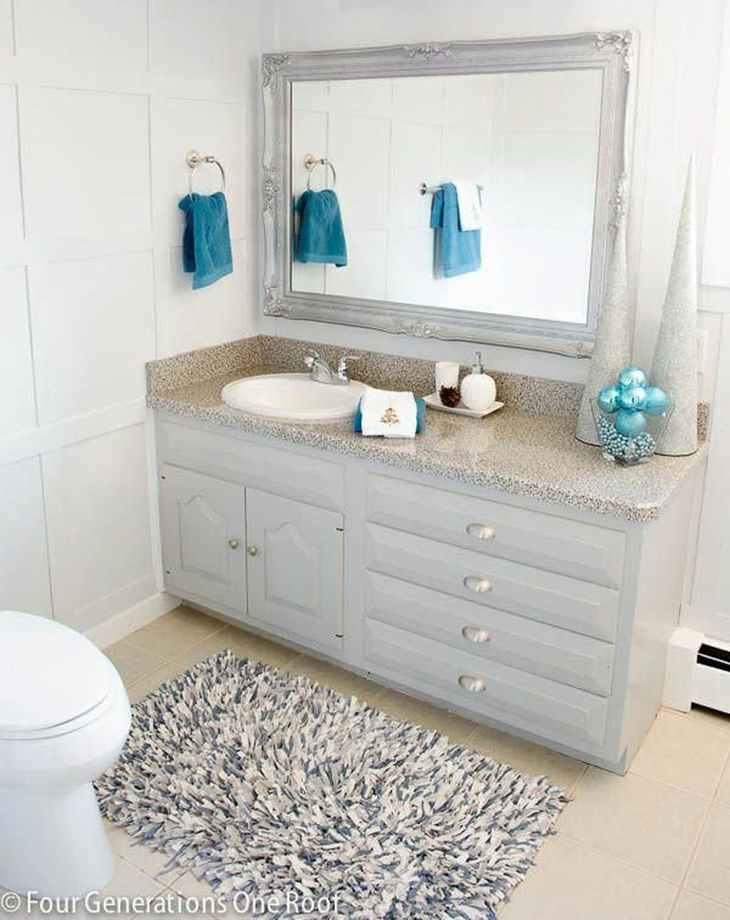 The Best Winter Bathroom Decor Ideas 32