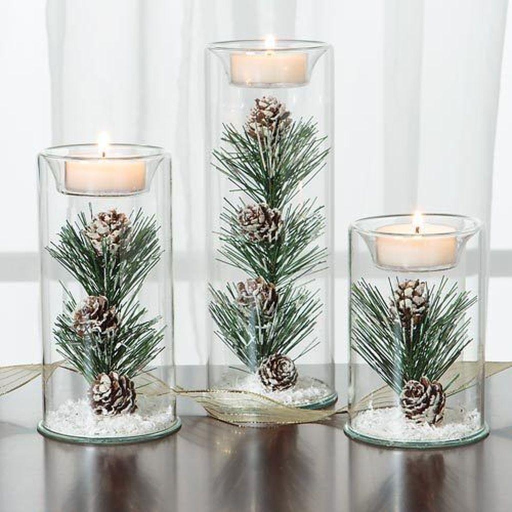 Nice Winter Table Centerpieces Decoration Ideas 10