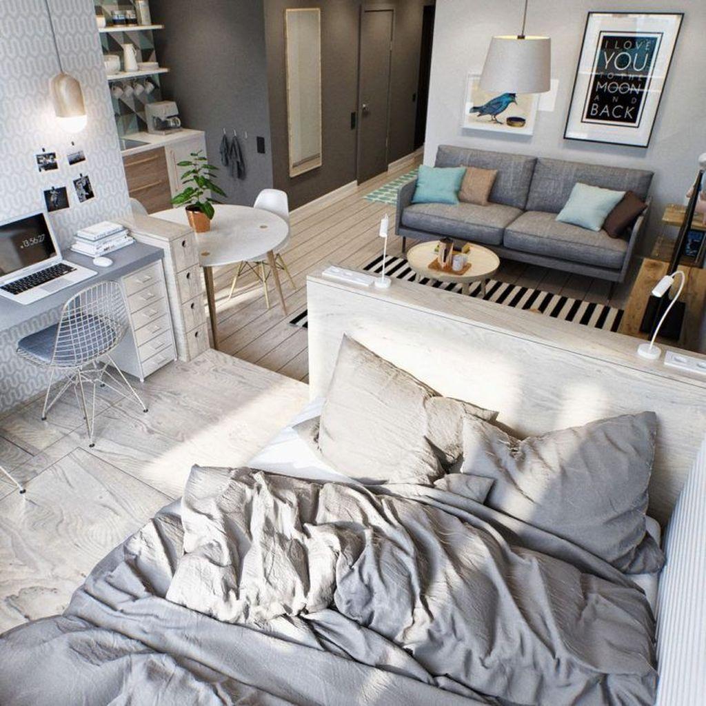 Amazing Studio Apartment Layout Ideas 05