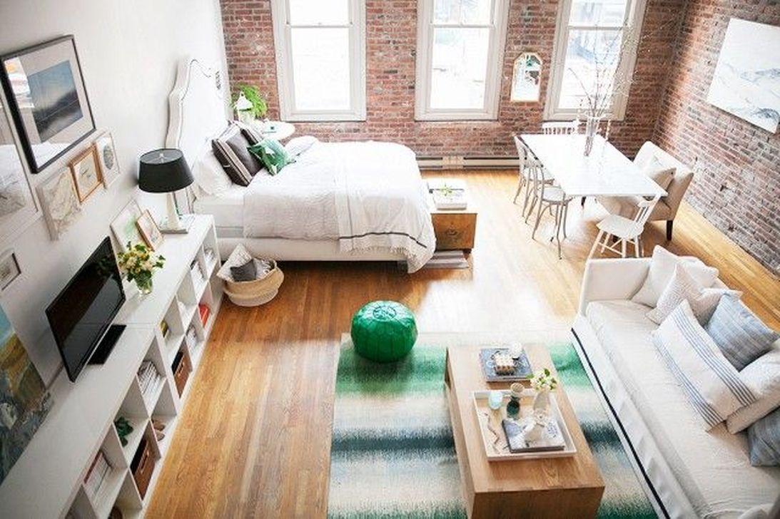 Amazing Studio Apartment Layout Ideas 22