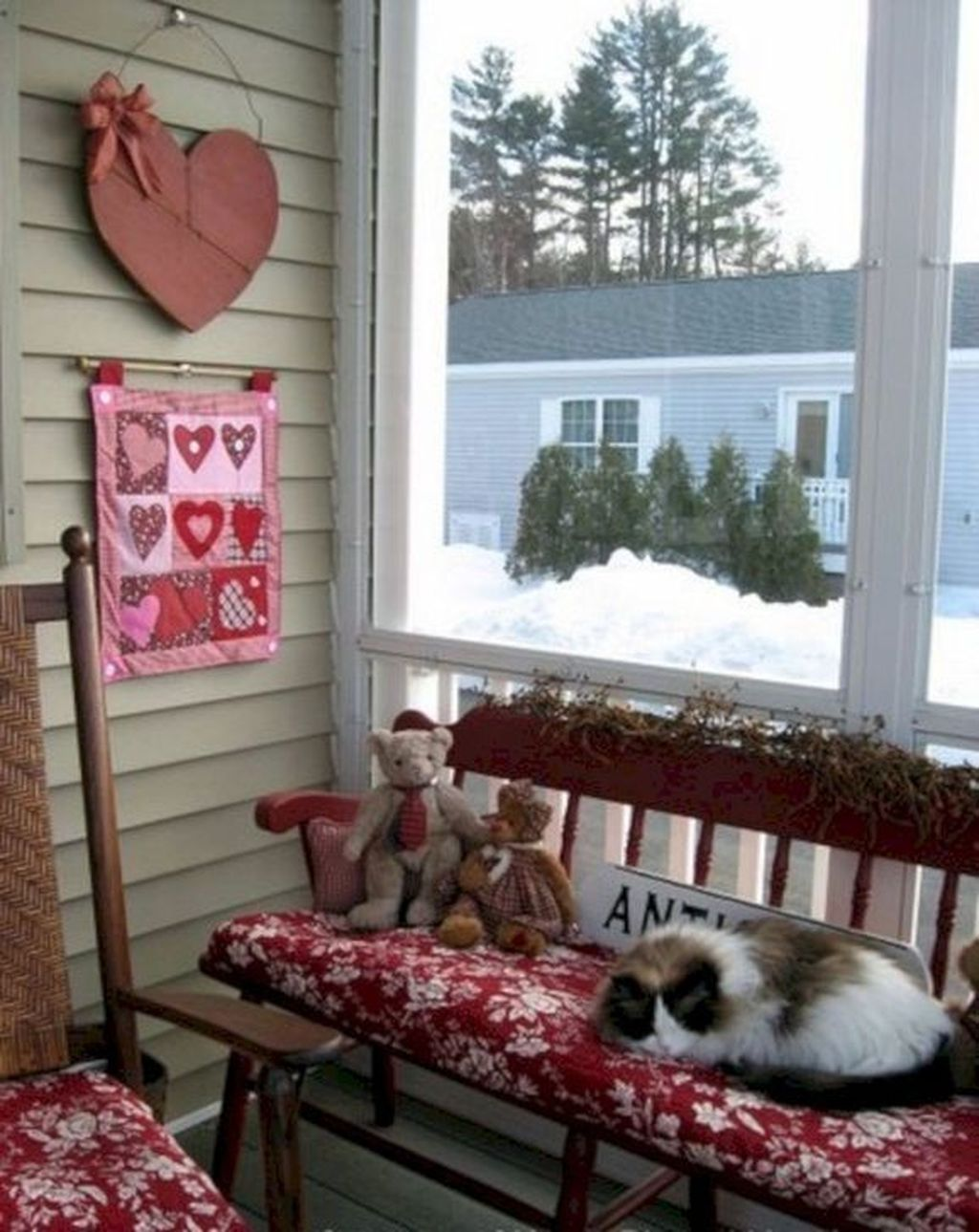 Awesome Valentines Day Porch Decor Ideas Which You Definitely Like 08
