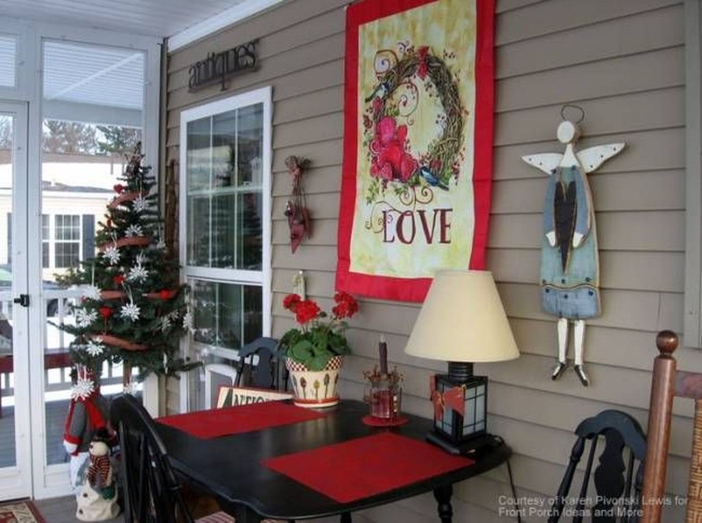 Awesome Valentines Day Porch Decor Ideas Which You Definitely Like 10