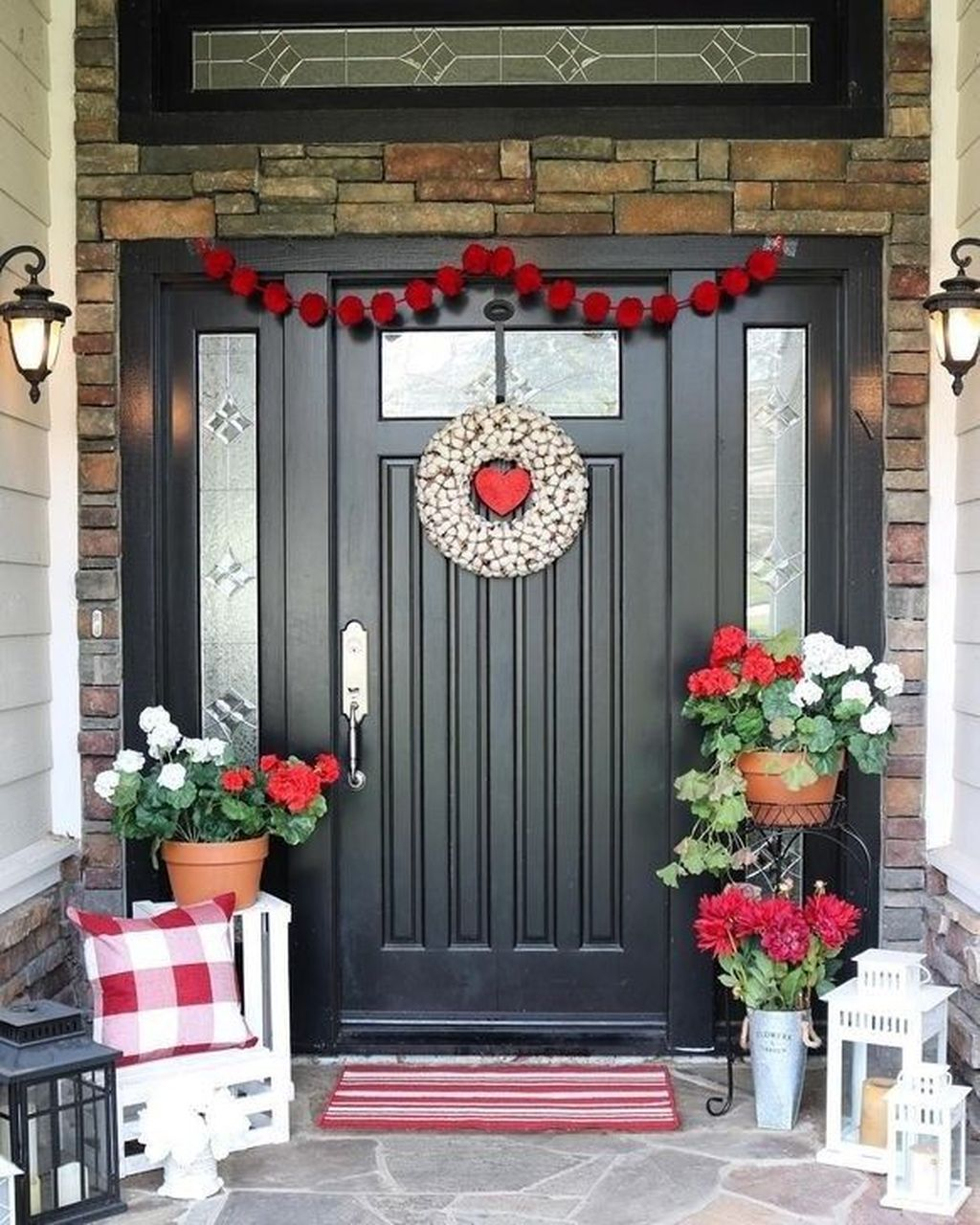 Awesome Valentines Day Porch Decor Ideas Which You Definitely Like 14