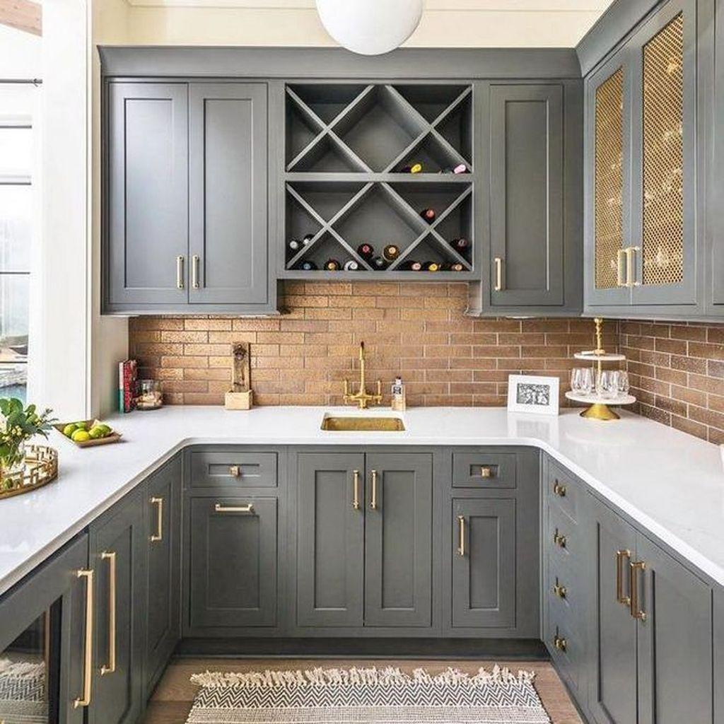 Fabulous Modern Rustic Kitchen Cabinets 06