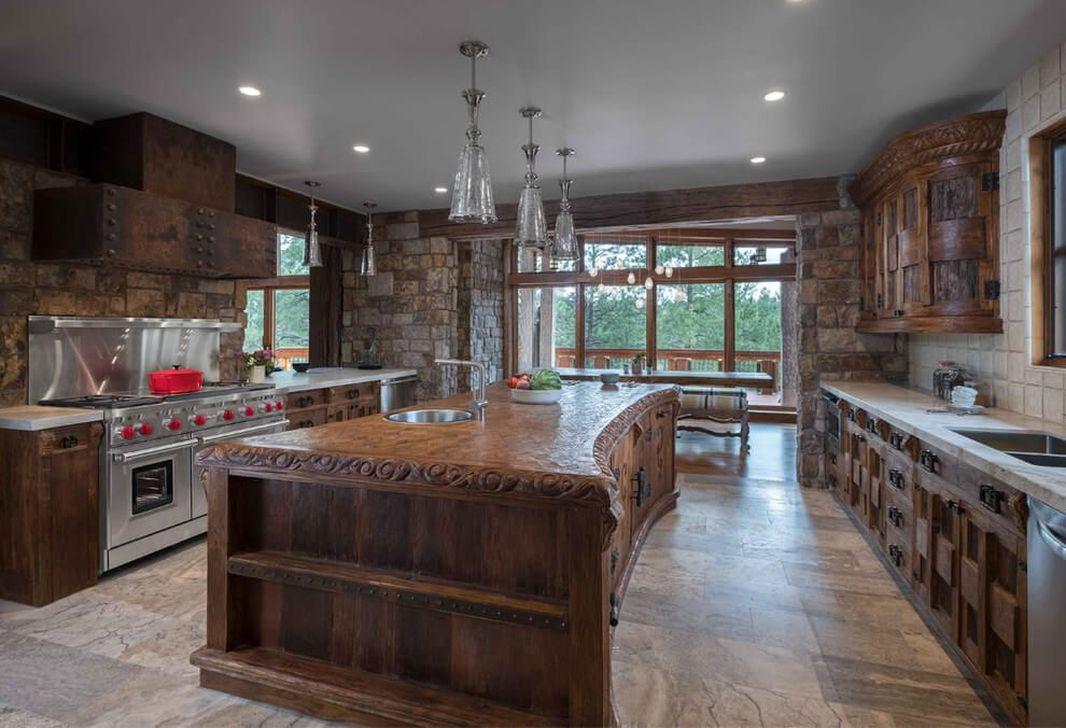 Fabulous Modern Rustic Kitchen Cabinets 23