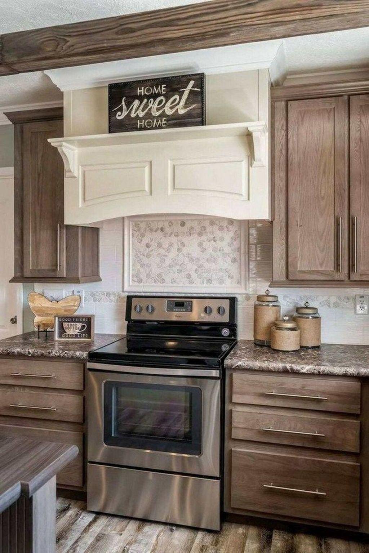 Fabulous Modern Rustic Kitchen Cabinets 26