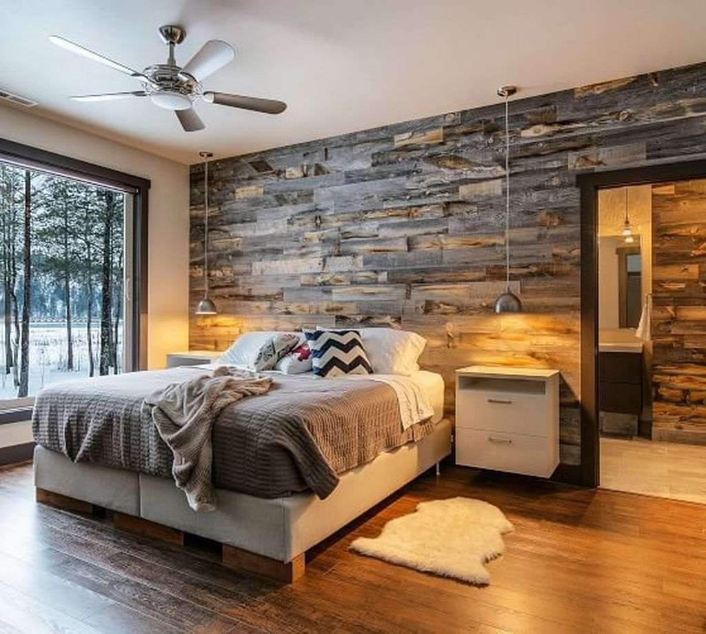 Gorgeous Rustic Bedroom Design And Decoration Ideas 03