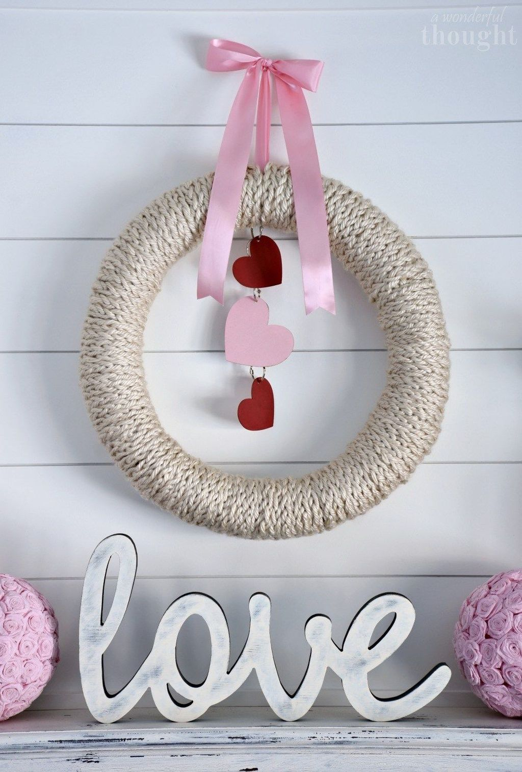 Gorgeous Valentine Wall Decor To Beautify Your Home 23