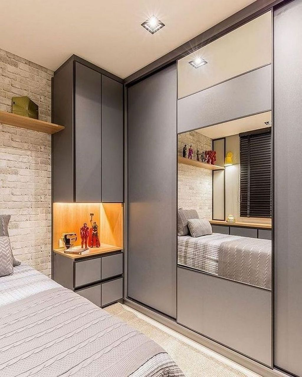 Inspiring Small Bedroom Ideas Which You Definitely Like 07