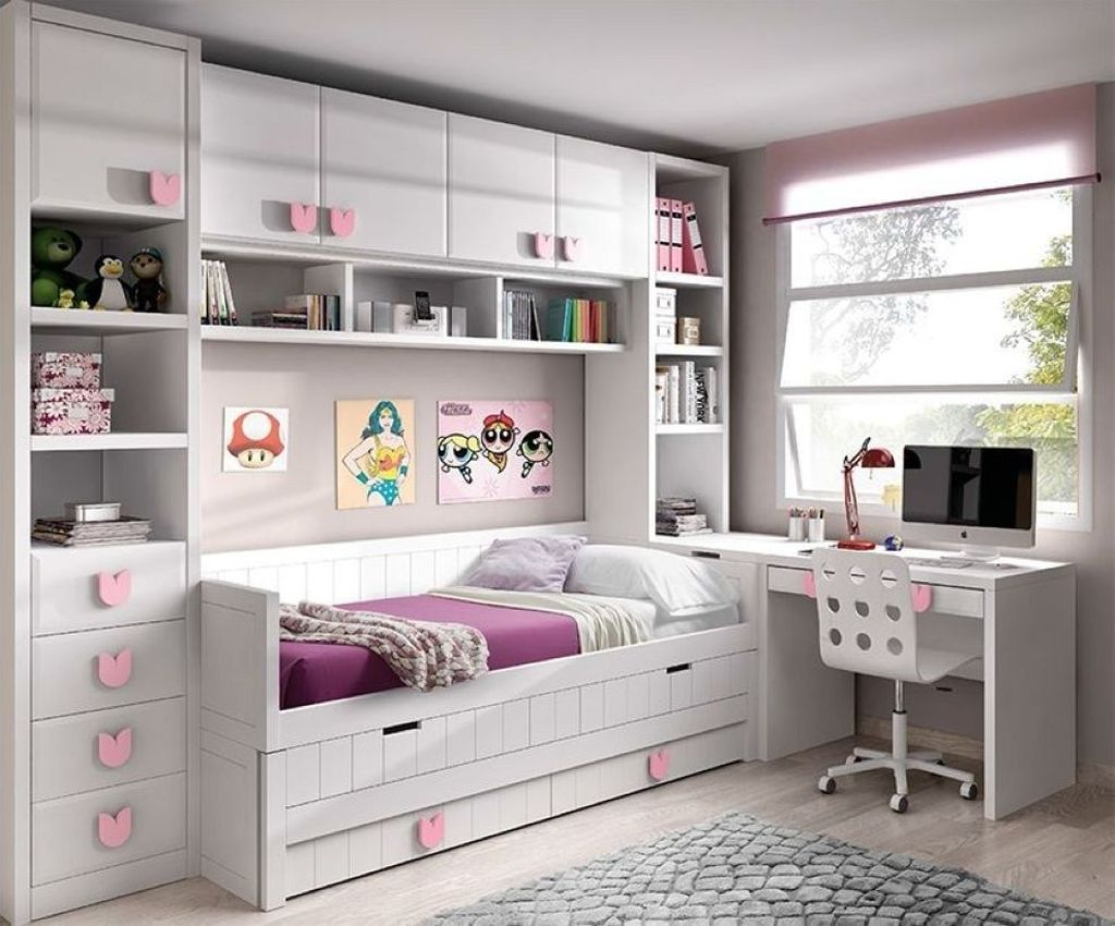 Inspiring Small Bedroom Ideas Which You Definitely Like 20