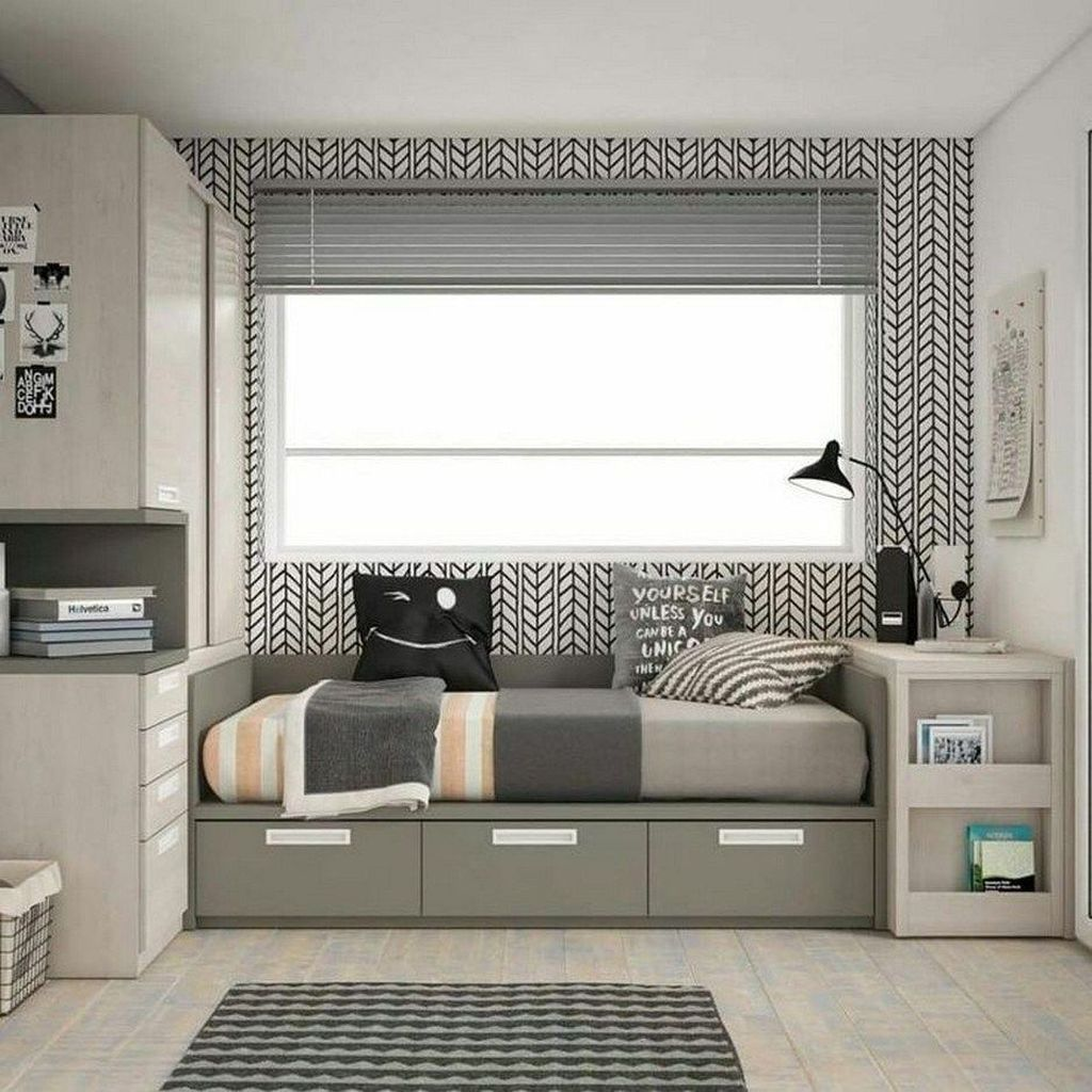 Inspiring Small Bedroom Ideas Which You Definitely Like 21