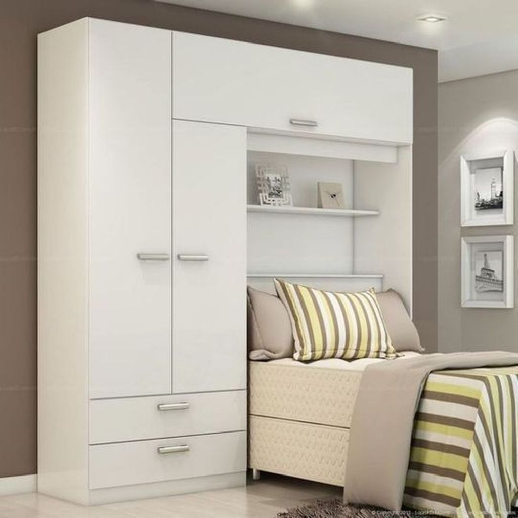 Inspiring Small Bedroom Ideas Which You Definitely Like 32
