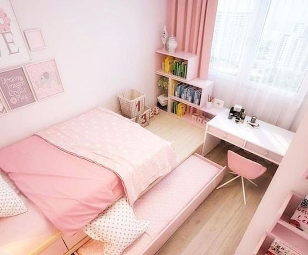 Inspiring Small Bedroom Ideas Which You Definitely Like 35