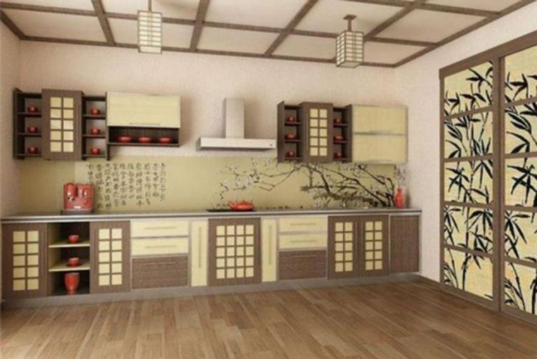 Lovely Japanese Kitchen Design Ideas 01