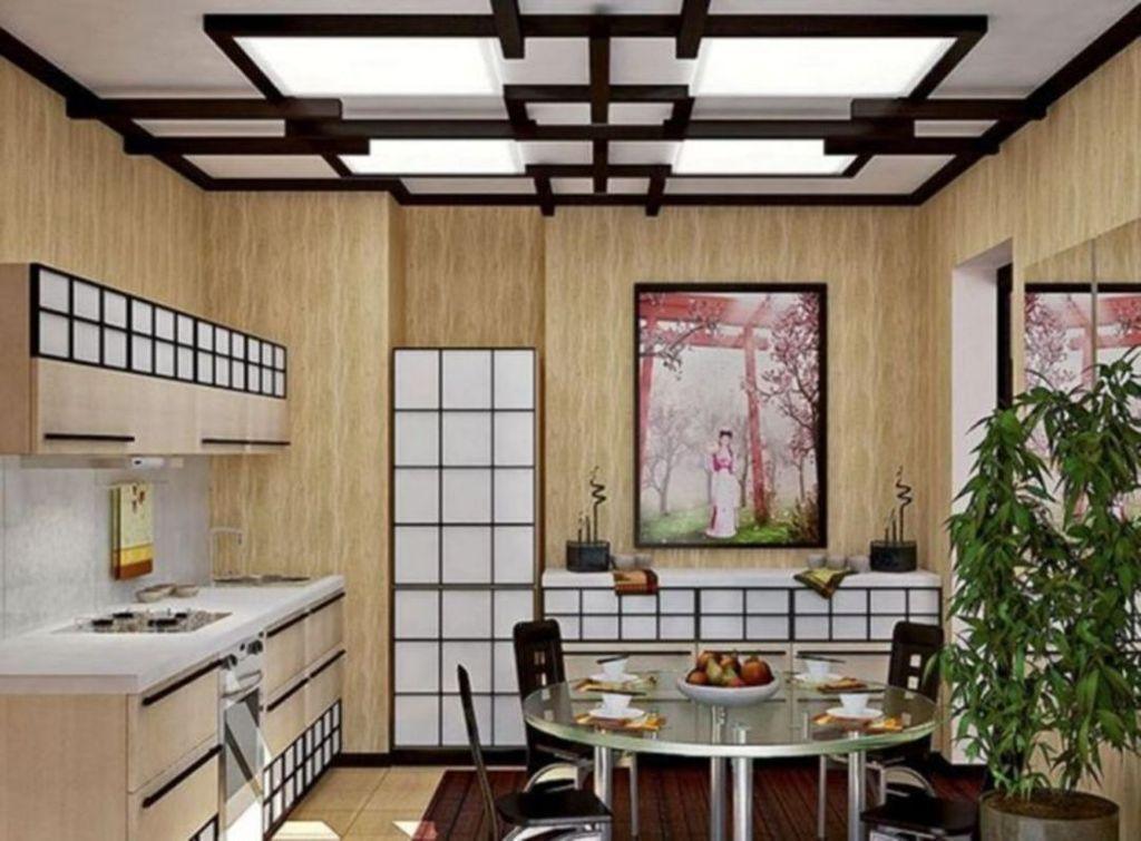 Lovely Japanese Kitchen Design Ideas 11