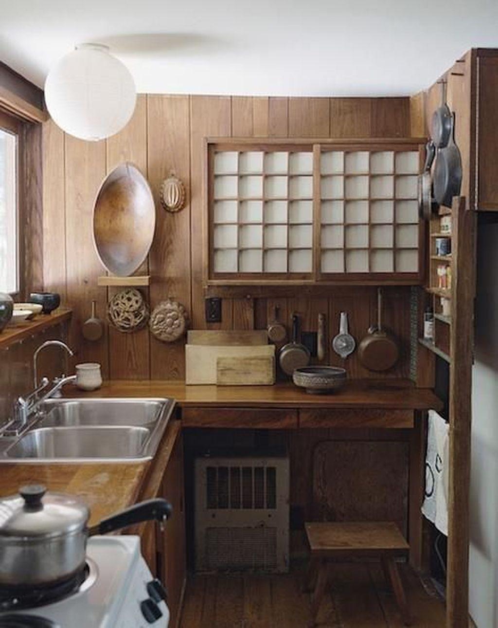 Lovely Japanese Kitchen Design Ideas 14