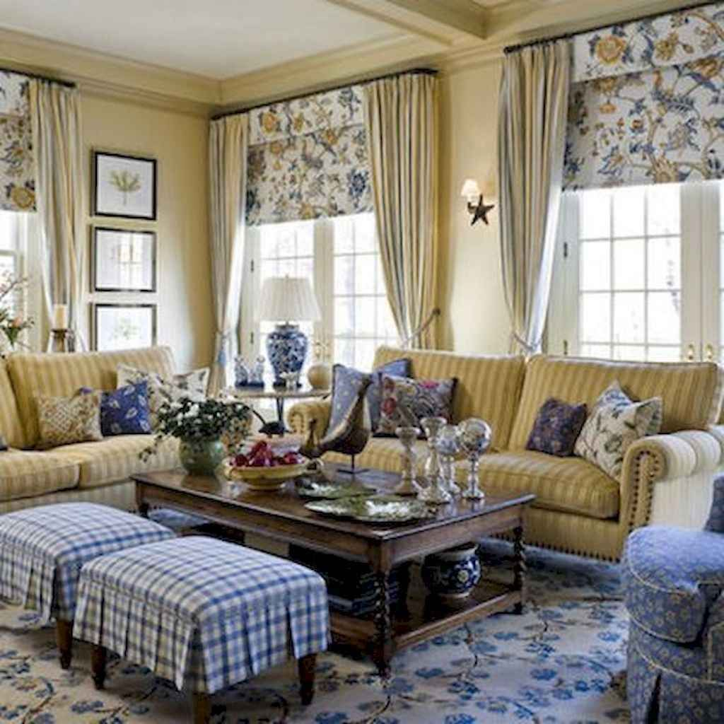 Popular French Country Living Room Decoration Ideas 02