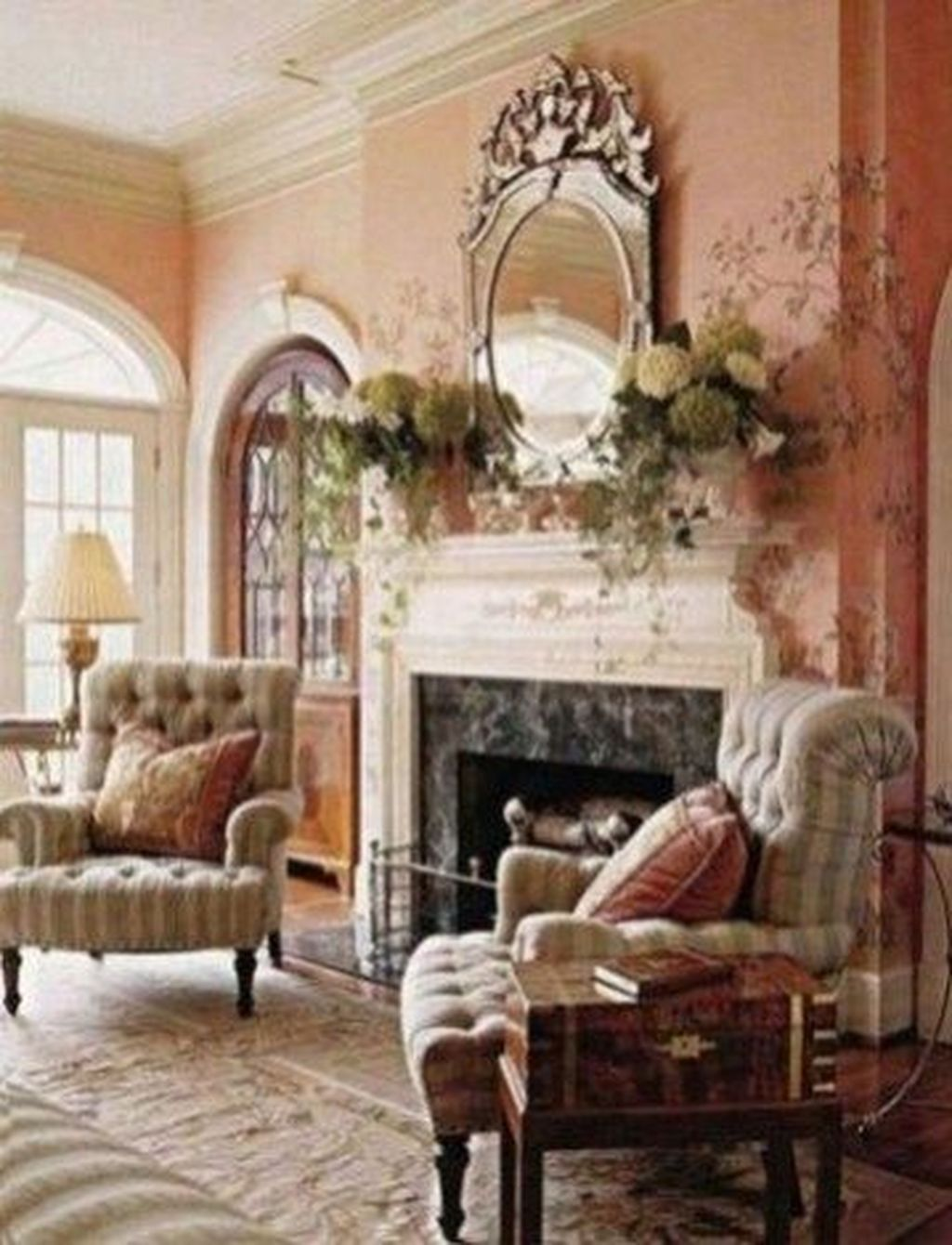 Popular French Country Living Room Decoration Ideas 30