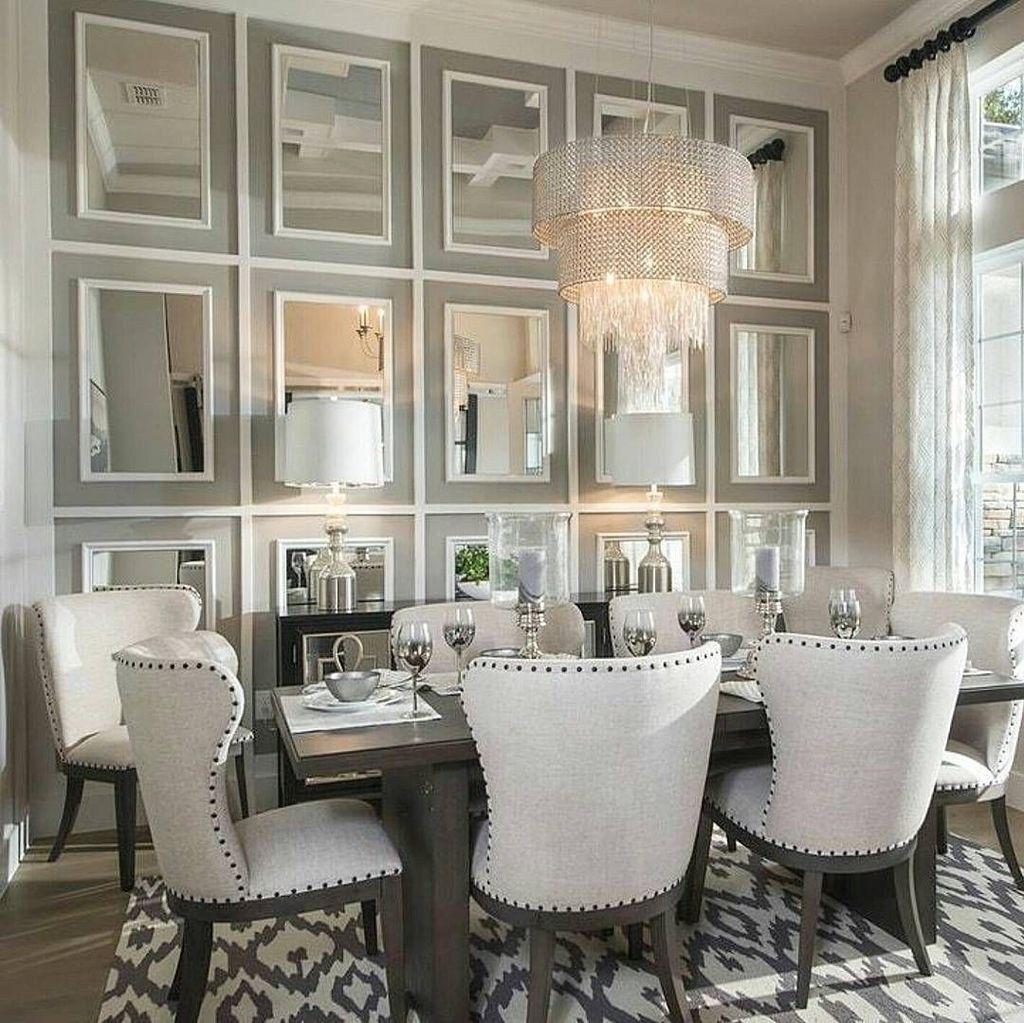 Popular Mirror Wall Decor Ideas Best For Living Room 21