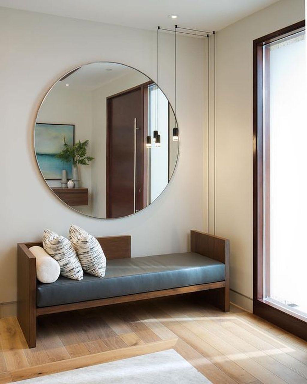 Popular Mirror Wall Decor Ideas Best For Living Room 22