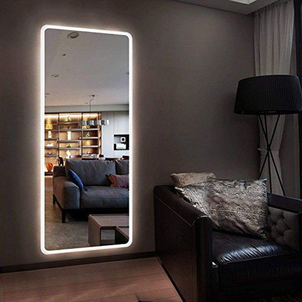 Popular Mirror Wall Decor Ideas Best For Living Room 25