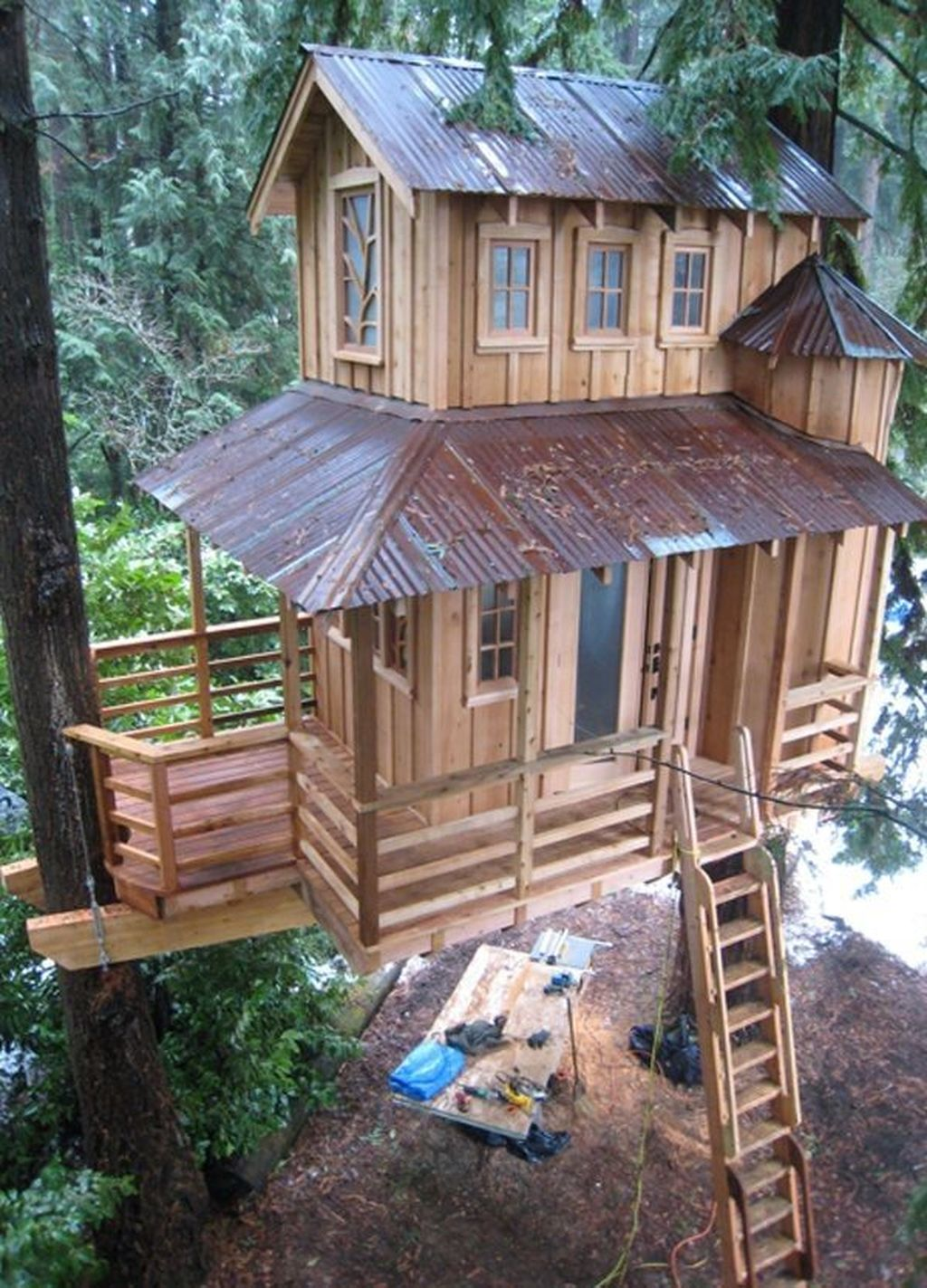 Stunning Tree House Designs You Never Seen Before 33