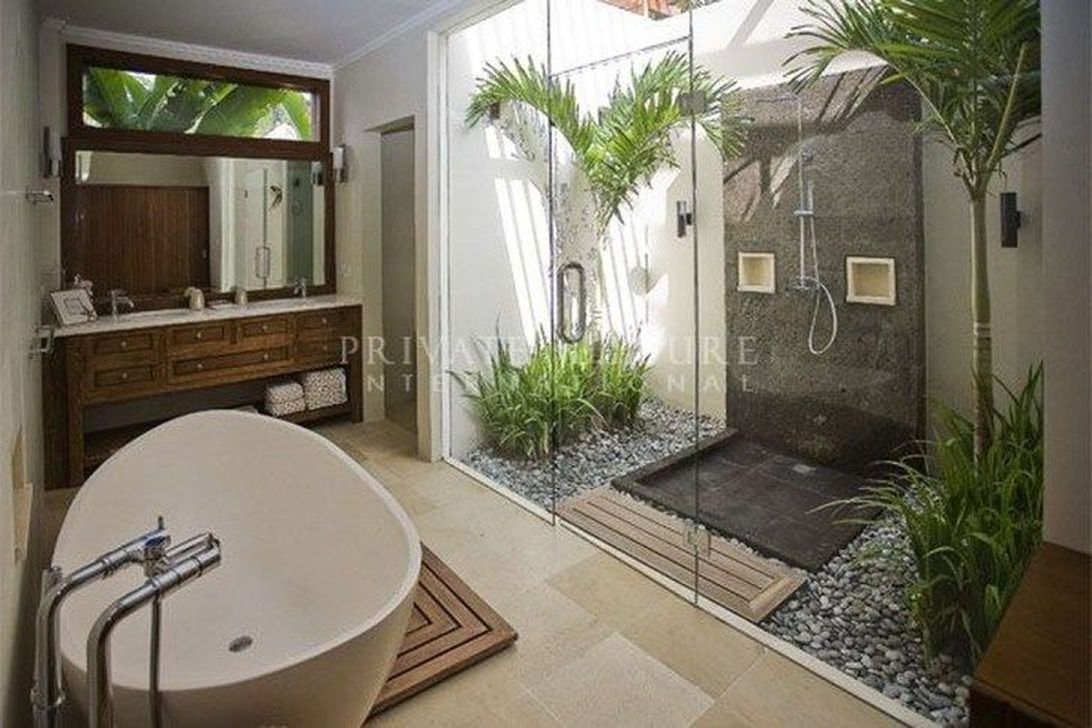 The Best Jungle Bathroom Decor Ideas To Get A Natural Impression 08