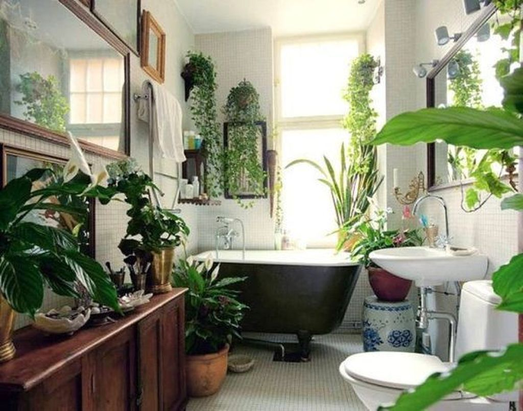 The Best Jungle Bathroom Decor Ideas To Get A Natural Impression 09