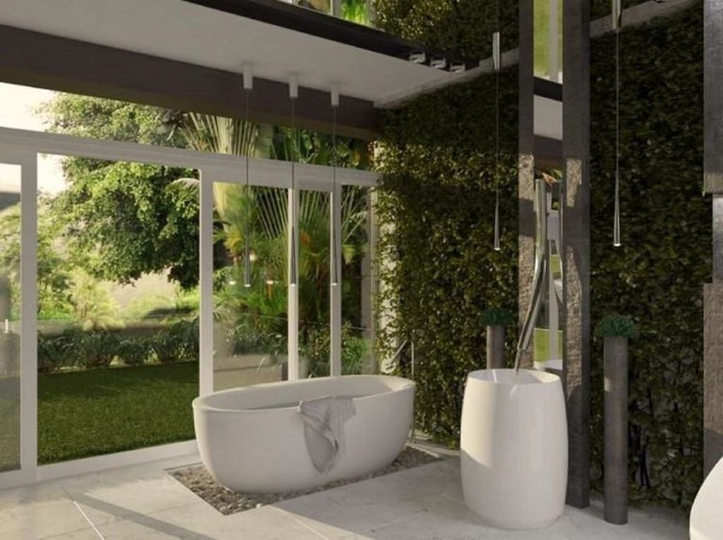 The Best Jungle Bathroom Decor Ideas To Get A Natural Impression 10