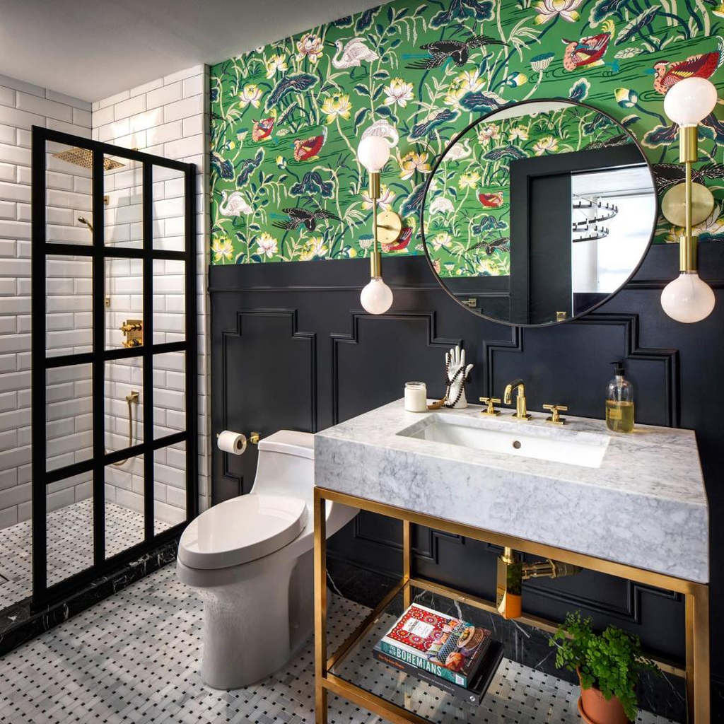The Best Jungle Bathroom Decor Ideas To Get A Natural Impression 24