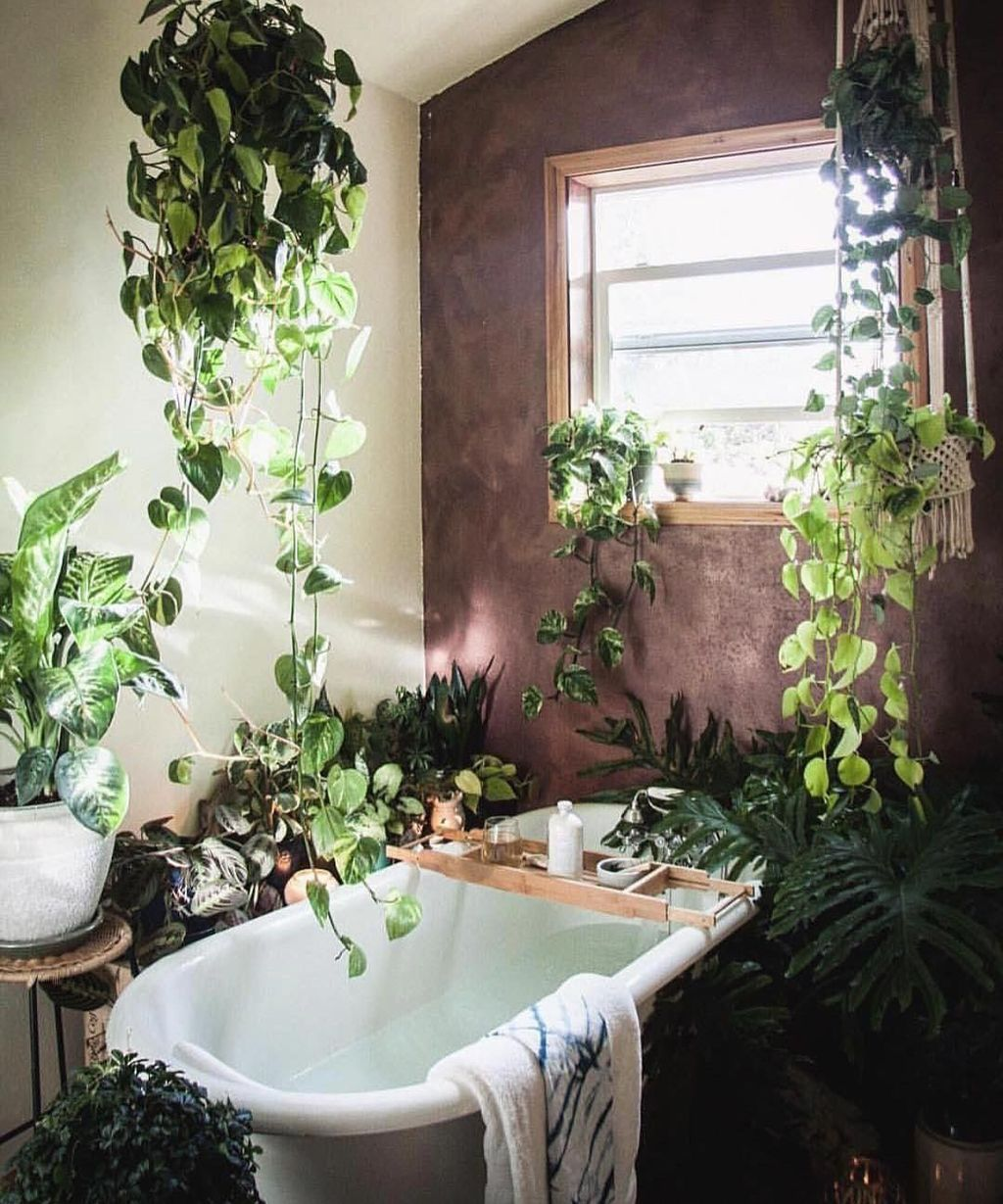 The Best Jungle Bathroom Decor Ideas To Get A Natural Impression 26